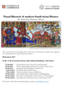 Visual Rhetoric and modern South Asian History, Michaelmas 2017 logo