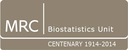 MRC Biostatistics Unit Centenary Events logo
