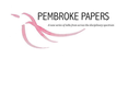 Pembroke Papers, Pembroke College logo