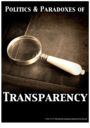 Politics and Paradoxes of Transparency CRASSH Research Group logo