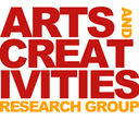 Arts and Creativities Research Group logo