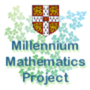 Millennium Maths Project public and schools' events logo