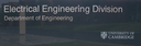 Electrical Engineering Division Talks logo