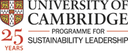 MSt in Sustainability Leadership logo